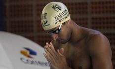 Nicolas Oliveira disse que exercícios foram bons para unir a equipe de revezamento Foto: Vitor Silva / SSPress / divulgação