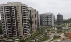 Vila Olímpica , casa dos atletas durante as Olimpíadas do Rio Foto: Márcio Alves / Agência O Globo