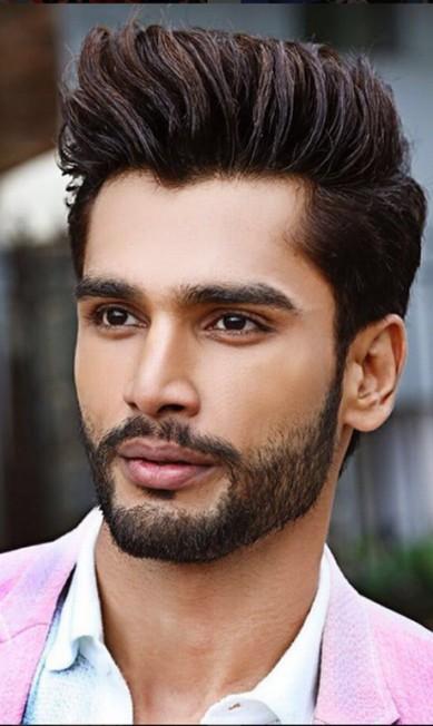 Antes de competir no concurso mundial, ele foi vencedor do Mr. India Instagram