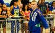 Jason Lee, campeão de jiu-jítsu da Nova Zelândia