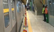 Após Paralimpíadas, metrô funcionará com horário reduzido Foto: Renan Franca / O GLOBO