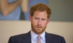 Harry: somente há 3 anos, o príncipe falou publicamente sobre a morte de Diana Foto: Matt Dunham / AP/7-7-2016
