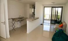 Um dos apartamentos da delegação sul-africana: equipe elogiou instalações Foto: Reprodução/Twitter