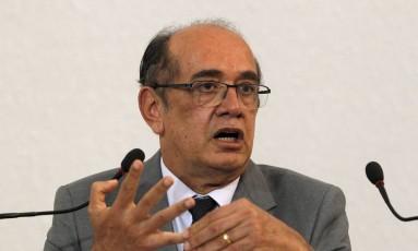 O presidente do Tribunal Superior Eleitoral (TSE), ministro Gilmar Mendes Foto: Givaldo Barbosa 25/ 07/2016 / Agência O Globo