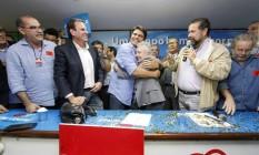 PDT oficializa apoio a Pedro Paulo e anuncia Cidinha Campos como vice Foto: Divulgação
