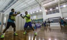 Equipe brasileira de boxe treina na Escola de Educação Física do Exécito na Urca Foto: Alexandre Cassiano / Agência O Globo