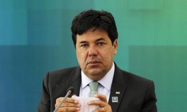 Ministro Mendonça Filho anunciou corte no sábado Foto: Givaldo Barbosa / Agência O Globo