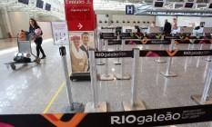 Mudança. Nova área do Terminal 2 do Aeroporto Galeão/Tom Jobim: modelo de concessão não se mostrou sustentável financeiramente Foto: Custódio Coimbra / O Globo/02-04-2016