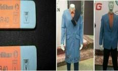 Internautas compararam o uniforme do Irã com a borracha Pelikan Foto: Reprodução Instagram