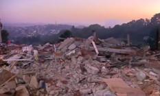 Após protestos, reintegração de posse é cumprida em terreno da Zona Oeste de SP Foto: Reprodução/TV Globo
