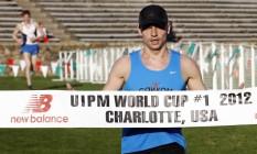 Ilia Frolov é um dos dois atletas do pentatlo moderno vetados nos Jogos Olímpicos Foto: Bob Leverone / AP