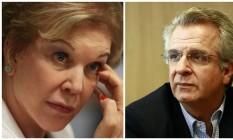 A candidata à Prefeitura de São Paulo, Marta Suplicy, e o vice, Andrea Matarazzo Foto: Montagem / O Globo