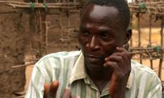 Eric Aniva foi preso no Malawi nesta terça Foto: Eldson Chagara / AP