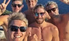 Alguém quer abrigar a seleção de polo aquático da Austrália? Foto: Reprodução/Twitter