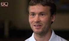 Vitaliy Stepanov, durante entrevista para o programa '60 Minutes' Foto: Reprodução/CBS