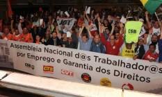 Centrais sindicais se reaproximam contra reformas de Temer Foto: Divulgação