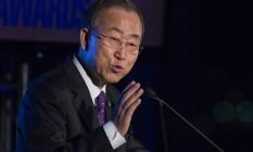Ban Ki-moon espera que países colaborem com a trégua Foto: LUCAS JACKSON / REUTERS