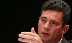Juiz Sérgio Moro será o primeiro a falar em comissão Foto: Geraldo Bubniak / Agência O Globo