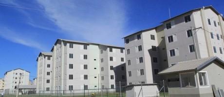 Efeito social. Condomínio do Minha Casa Minha Vida: recursos do FGTS são usados para financiar habitação, saneamento e infraestrutura Foto: terceiros/divulgação / Divulgação