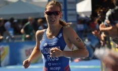 Alexandra Razarenova foi uma das triatletas liberadas para os Jogos Olímpicos Foto: Reprodução