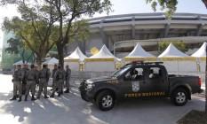 Força Nacional vai patrulhar o metrô durante os Jogos Olímpicos Foto: Marcelo Carnaval / Agência O Globo