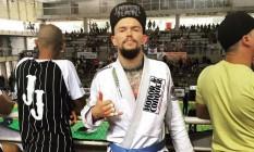 O lutador de jiu-jitsu Jason Lee, da Nova Zelândia Foto: Reprodução do Facebook