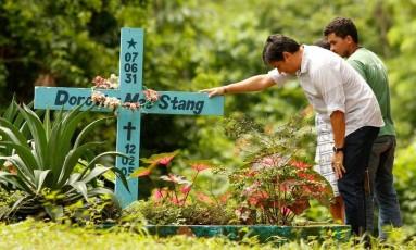 Homenagem a Dorothy Stang, assassinada no Pará Foto: MST / Divulgação