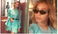 Beyoncé: foto com Jay-Z virou meme Foto: Reprodução