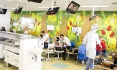 Instalações do Hospital da Criança de Brasília Foto: Divulgação / HCB