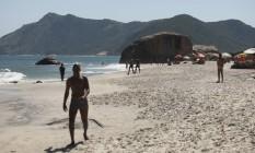 Praia de Abricó terá olimpíada naturista Foto: Guilherme Leporace / Agência O Globo