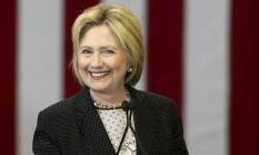 Hillaru Clinton sorri durante evento de campanha em Ohio Foto: AARON JOSEFCZYK / REUTERS