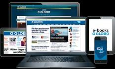 Site do GLOBO Foto: Reprodução