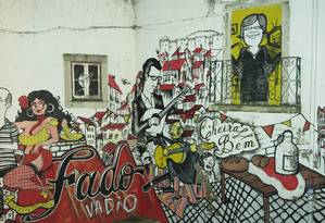 Lisboa, fado Tasca do Chico. Foto: Juarez Becoza / Agência O Globo