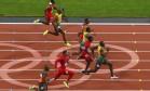 Mais rápido do planeta. Nos Jogos de Londres, o jamaicano Usain Bolt, recordista mundial, vence a final dos 100m e conquista o bi olímpico Foto: Cathal Mcnaughton 05/08/2012 / REUTERS