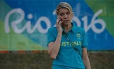 Kitty Chiller, chefe da delegação da Austrália Foto: Daniel Marenco / Agência O Globo