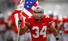 Nate Ebner é campeão pelo Patriots e vai disputar a Olimpíada do Rio Foto: Reprodução/Twitter