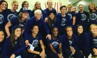 Após polêmica, Hope Solo chega ao Brasil com seleção feminina dos EUA. Equipe fez fotos no aeroporto de SP Foto: Reprodução/Instagram