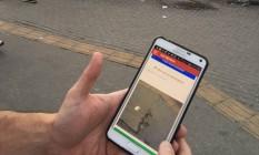 Minha Bronca: aplicativo fez ação em Niterói (foto) Foto: Reprodução/Facebook