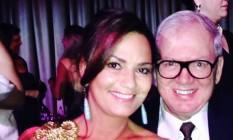 Luiza Brunet e o ex-marido Lirio Parisotto Foto: Reprodução do Facebook