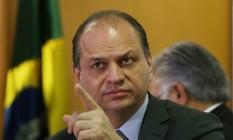 O ministro da Saúde, Ricardo Barros Foto: Michel Filho / Agência O Globo