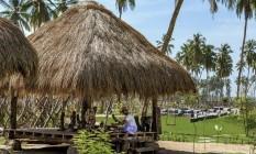 Refúgio selvagem. Cabanas de artesãos, quartos com vista para o mar e spa com terapias orientais no Shangri-La Hambantota, no Sri Lanka (na página à esquerda ) Foto: Markus Gortz/Divulgação / Fotos de Markus Gortz/Divulgação