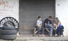 Fábio Assunção e Ingrid Guimarães em cena do road movie 'Entre idas e vindas' Foto: Divulgação