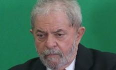 Lula vai à ONU para acusar Sérgio Moro de violar direitos humanos Foto: André Coelho / Agência O Globo 17/03/2016