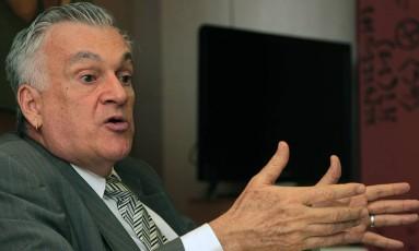 O ex-ministro da Cultura Juca Ferreira Foto: Jorge William / Agência O Globo