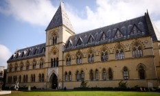 Fachada do Museu de História Natural da Universidade de Oxford Foto: Divulgação