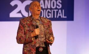 Seminário Evolução das Mídias Digitais contou com o professor Howard Rheingold/ Agência 'O Globo' Foto: Marcelo de jesus / Agência O Globo