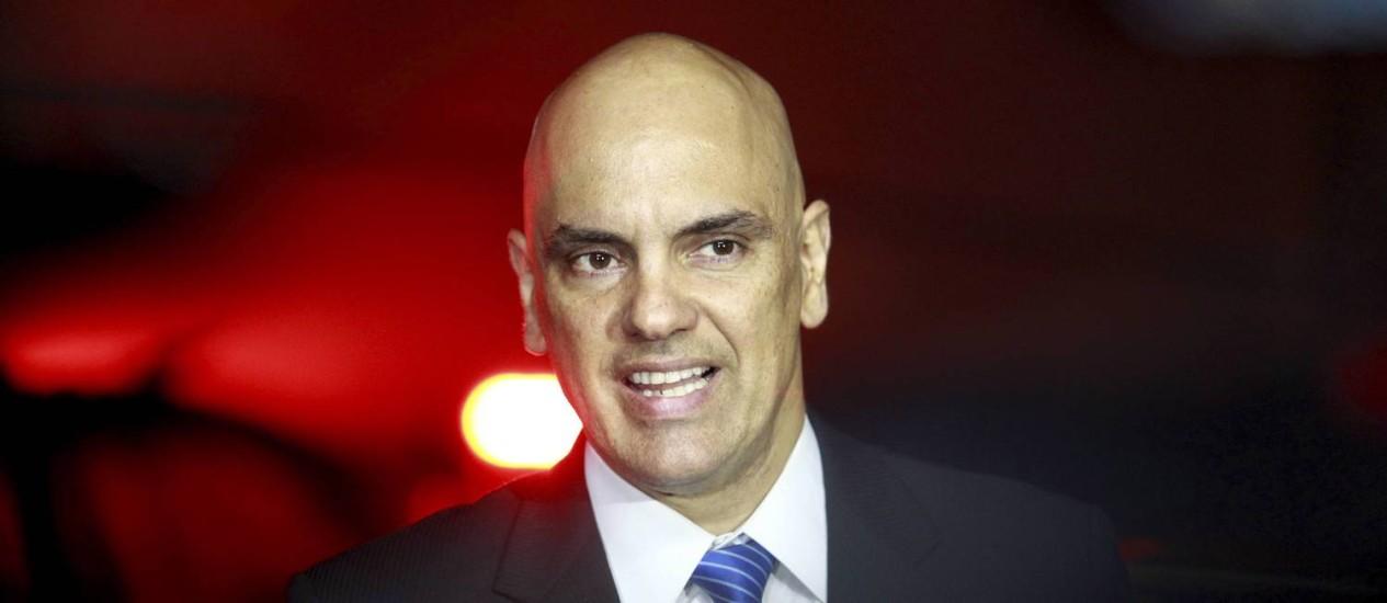 Ministro da Justiça , Alexandre de Moraes Foto: RE Extra / Agência O Globo