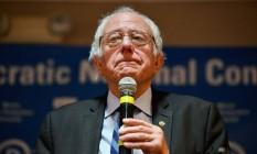 Líderes democratas discutiram estratégias para desfavorecer candidatura presidencial do senador Bernie Sanders Foto: JEFF J MITCHELL / AFP