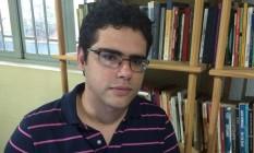 O escritor Eduardo Sabino, vencedor do concurso Brasil em Prosa Foto: Divulgação