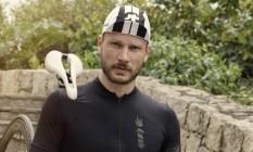 Rodrigo Hilbert: galã tem gosto pela bicicleta Foto: Duda Carvalho